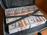 №2, Сумка-дипломат с деньгами 100 $ долларов ( Муляж) Бутафорские деньги, фото №6