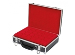 Большой нумизматический кейс с 8 планшетами для монет различных размеров. 2338. фото 2