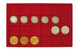 Большой нумизматический кейс с 8 планшетами для монет различных размеров. 2338. фото 4