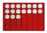 Большой нумизматический кейс с 8 планшетами для монет различных размеров. 2338. фото 5