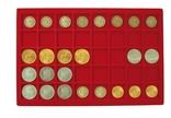 Большой нумизматический кейс с 8 планшетами для монет различных размеров. 2338. фото 6