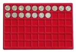 Большой нумизматический кейс с 8 планшетами для монет различных размеров. 2338. фото 7