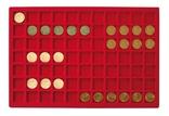 Большой нумизматический кейс с 8 планшетами для монет различных размеров. 2338. фото 8