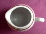 Сливочник / молочник Золотая шейка. Фарфор, позолота., фото №6