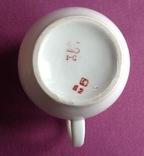 Сливочник / молочник Золотая шейка. Фарфор, позолота., фото №7