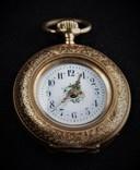 Часы карманные золото 585 Звезда Давида