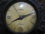 Часы Севани в подчаснике литье КУСА.- охота photo 2