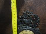 Часы Севани в подчаснике литье КУСА.- охота photo 9