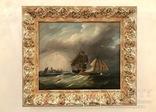 Картина «В порту Дордрехта» Голландия