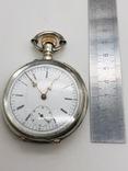 Антикварные часы в серебре. photo 2
