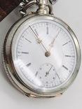 Антикварные часы в серебре. photo 4