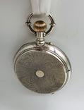 Антикварные часы в серебре. photo 8