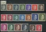 1941-43 Рейх оккупация Прибалтики Ostland полная серия все 20 марок photo 1
