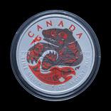 1 Доллар 2017 Медведь и Лосось, Канада