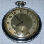 """Часы карманные """"Honved"""", малоизвестная марка 1930-40г."""