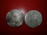 3 крейцера 1698р., 1705р.