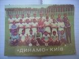 Футбольные открытки Динамо Киев УССР, фото №4