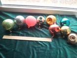 Елочные игрушки шары 9шт, фото №2