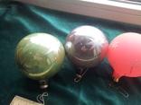 Елочные игрушки шары 9шт, фото №3