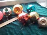 Елочные игрушки шары 9шт, фото №6