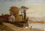Картина английского художника( кон.19 - нач.20 в.)