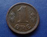1 эре 1920 Дания    (Г.5.64)~, фото №2
