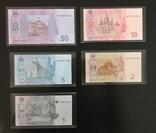 Комплект банкнот в оргстекле. Официальный выпуск НБУ, фото №2