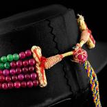 Ожерелье из натуральны рубинов, изумрудов и цветных сапфиров 500 карат, фото №4