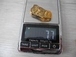 Серебряная Брош в позолоте с античным мотивом, фото №7