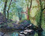 """""""Осенний пейзаж"""" 40 x 50 cm, холст,масло"""