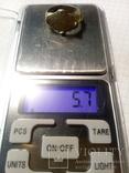 Перстень рогач, серебро в позолоте photo 8