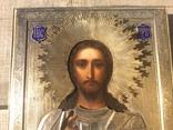 Икона Спаситель 84,эмаль, горящая позолота photo 2