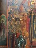 Большая икона Скорбящим Радость,Палех photo 3
