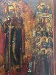Большая икона Скорбящим Радость,Палех photo 5