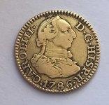 1/2 Эскудо 1786г. Испания photo 1