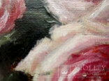 """''Розы"""". 20х30 см. масло холст на подрамнике photo 2"""