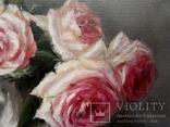 """''Розы"""". 20х30 см. масло холст на подрамнике photo 4"""