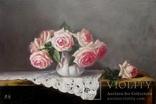 """''Розы"""". 20х30 см. масло холст на подрамнике photo 5"""