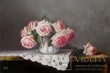 """''Розы"""". 20х30 см. масло холст на подрамнике photo 6"""