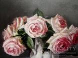 """''Розы"""". 20х30 см. масло холст на подрамнике photo 7"""