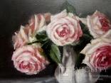 """''Розы"""". 20х30 см. масло холст на подрамнике photo 8"""