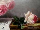 """''Розы"""". 20х30 см. масло холст на подрамнике photo 9"""