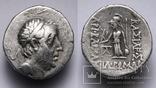 Каппадокійське царство, срібна драхма Аріобарзана I Філоромея, 96-63 до н.е., м.Євсебія photo 1
