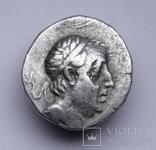 Каппадокійське царство, срібна драхма Аріобарзана I Філоромея, 96-63 до н.е., м.Євсебія photo 4