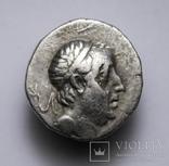 Каппадокійське царство, срібна драхма Аріобарзана I Філоромея, 96-63 до н.е., м.Євсебія photo 6