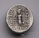 Каппадокійське царство, срібна драхма Аріобарзана I Філоромея, 96-63 до н.е., м.Євсебія photo 7