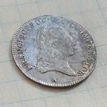 3 крейцера 1820г., Австрия, в штемпельном блеске photo 4