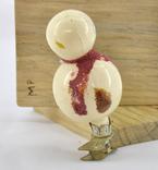 Елочная игрушка Снеговичек, фото №4