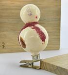 Елочная игрушка Снеговичек, фото №2