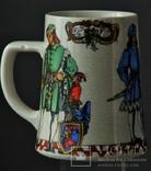 Пивная кружка Три Рыцаря, фото №2